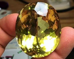 270.95 cts GOLDEN MONSTER CITRINE GEMSTONE