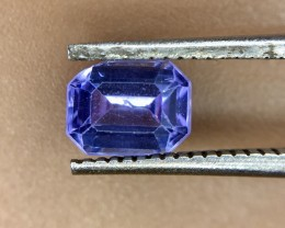 0.60 Crt Natural Tanzanite Good Quality Faceted Gemstone