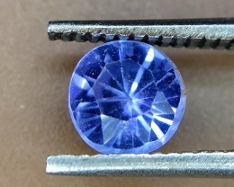0.25 Crt Natural Tanzanite Good Quality Faceted Gemstone