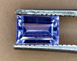 0.65 Crt Natural Tanzanite Good Quality Faceted Gemstone