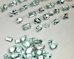 136.25CTS Aquamarine lot very Reasonable