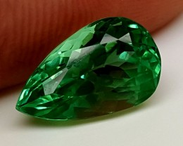5.15Crt Green Spodumene Best Grade Gemstones JI 204