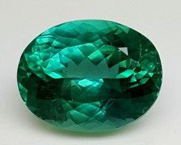14.30Crt Top Green Spodumene Best Faceted Gemstones GS26