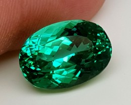 15Crt Top Green Spodumene Best Faceted Gemstones GS23