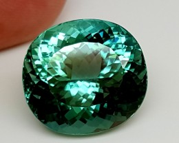 22.60Crt Top Green Spodumene Best Faceted Gemstones GS18