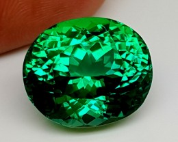 Green Spodumene Gemstones