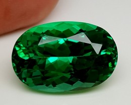18.70Crt Top Green Spodumene Best Faceted Gemstones GS15