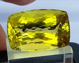 62.65cts, Certified Citrine,  Top Cut,  Clean, Giant Stone