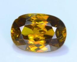 Nice Brilliance 2.36 ct Imperial Sphene Titanite Mulaghani Mine SKU.13