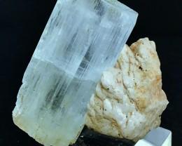 331.60ct Double Terminated Blue Aquamarine crystal specimen Shigar Pakistan