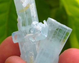 72.9cts Rarely Combined Aquamarine garnet & Tourmaline from Shgar mine