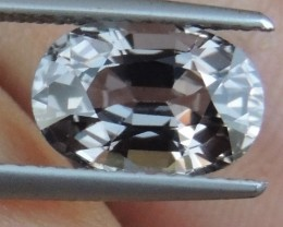2.79cts Burma Grey Spinel,  100% Untreated, Calibrated
