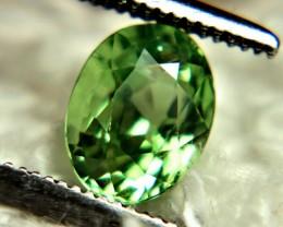 CERTIFIED - 1.07 Carat Green African Tsavorite Garnet - Superb