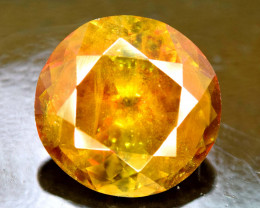 4.85 Carats Round Full Fire Sphene Titanite Gemstone From Pakistan