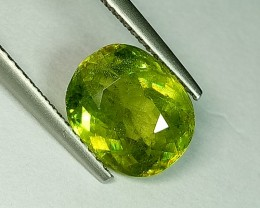 3.79 ct Fantastic Cushion Cut Fantastic Natural Sphene