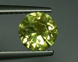 1.29 ct  Excellent Round Cut Top Quality Chrysoberyl