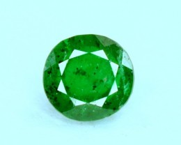 0.50 Carats Round Cut ~ Rare Swat Emerlad Gemstone from Pakistan