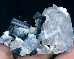 240.5ct Very Nice Combination of Aquamarine C/w Tourmaline Shigar mine Pak