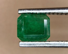 0.40 Crt Natural Swat Emerald Faceted Gemstone (948)