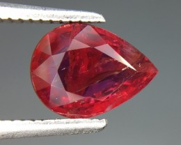 GIL Certified 1.94 Cts Untreated Ruby Awesome Color ~ Mozambique
