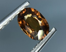 1.27 CT NATURAL BROWN ZIRCON HIGH QUALITY GEMSTONE S23