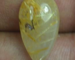 8.20 Ct Natural Untreated Rutilated Quartz Gemstone