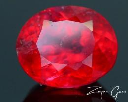 Rare 2.26 ct Rhodonite Great Rasberry Color Africa SKU 1