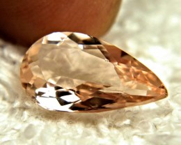 4.07 Carat IF/VVS1 Brazil Cinnamon Morganite - Gorgeous