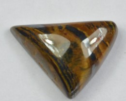 10.45 Ct UNTREATED NATURAL BEAUTIFUL TIGERS EYE