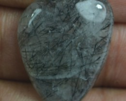20.55 Ct Natural Untreated Rutilated Quartz Gemstone