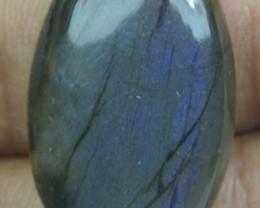 30.20 CT 100% Natural Untreated Labradorite Cabochon