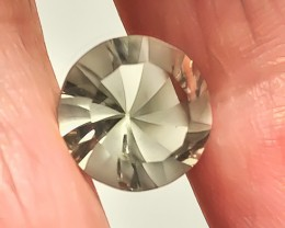 5.13ct Prasiolite - Rare Cut Green Amethyst -  Fantastic No Reserve Auction