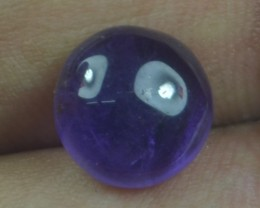 3.15 CT NATURAL UNTREATED AMETHYST CABOCHON GEMSTONE