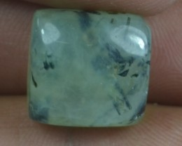 17.60 CT NATURAL UNTREATED PREHNITE GEMSTONE CABOCHON