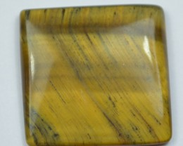 25.45 Ct UNTREATED NATURAL BEAUTIFUL TIGERS EYE