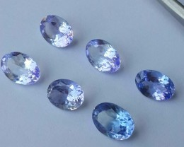 3.90 CTS-GLITTERING LUSTER OVAL COLLECTORS GEM NATURAL TANZANITE NR!