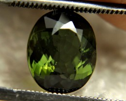 3.36 Carat Green VS/SI Nigerian Tourmaline - Superb