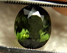 3.36 Carat Green VS/SI Nigerian Tourmaline - Superb