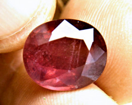 9.90 Carat Fiery Ruby - Gorgeous