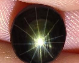 4.96 Carat Thailand 12 Ray Black Star Sapphire - Gorgeous