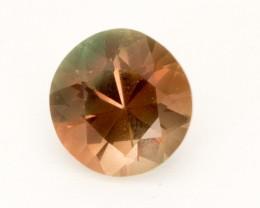 2.1ct Dark Peach Round Sunstone (S2525)
