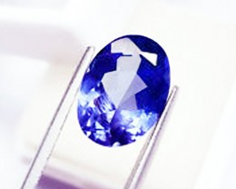 0.70 ct Beautiful Perfectly IF Clean Natural Tanzanite