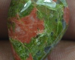 25.95 CT BEAUTIFUL UNAKITE GEMSTONE (NATURAL+UNTREATED)