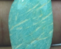 25.15 CT BEAUTIFUL AMAZONITE (NATURAL+UNTREATED)