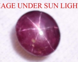5.90 Ct Star Ruby CERTIFIED Beautiful Natural Unheated & Untreated