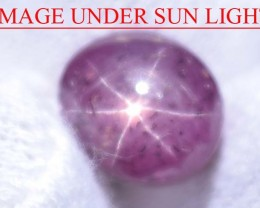 6.58 Ct Star Ruby CERTIFIED Beautiful Natural Unheated & Untreated