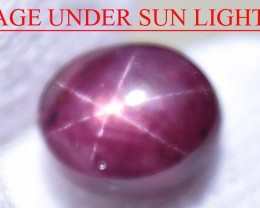 3.91 Ct Star Ruby CERTIFIED Beautiful Natural Unheated & Untreated