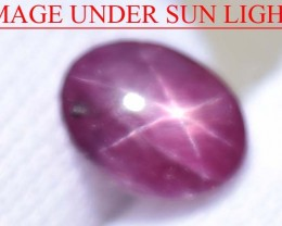 2.06 Ct Star Ruby CERTIFIED Beautiful Natural Unheated & Untreated