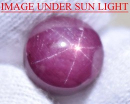 8.18 Ct Star Ruby CERTIFIED Beautiful Natural Unheated & Untreated