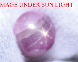 5.99 Ct Star Ruby CERTIFIED Beautiful Natural Unheated & Untreated